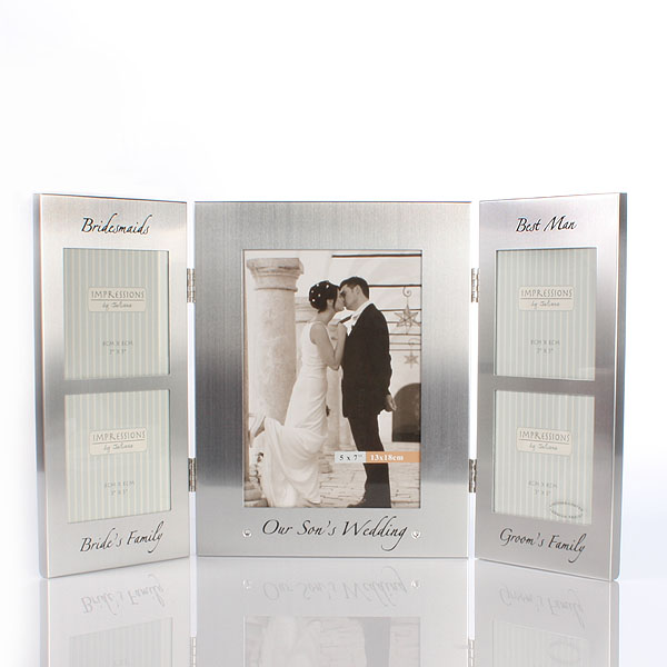 Our Sons Wedding Photo Frame