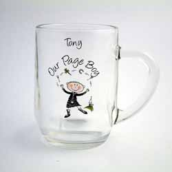 Scottish Cartoon Character 1/2 Pint Tankard