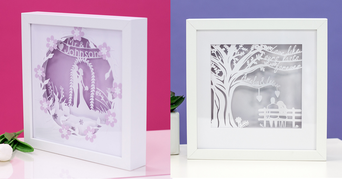 Personalised Paper Wedding Anniversary Gifts
