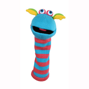 Sockette Puppets - Scorch - Soft Toys Gifts