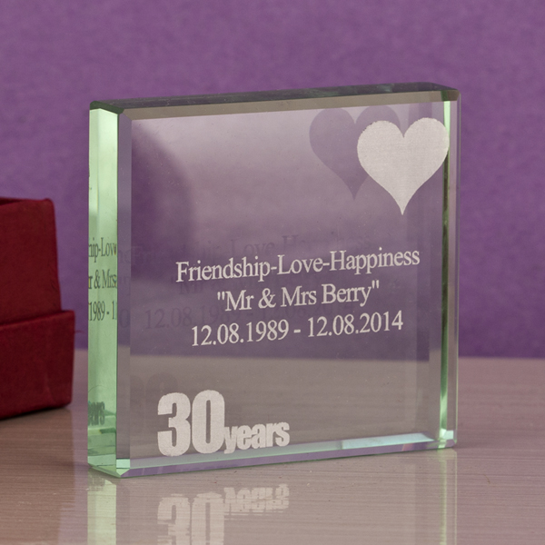 30th (Pearl) Anniversary Keepsake - 30th Gifts