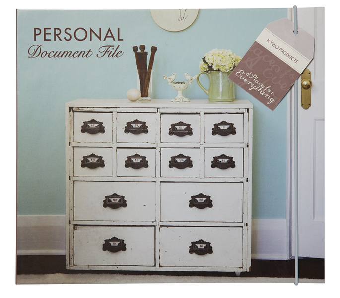 Personal Document File - Personal Gifts