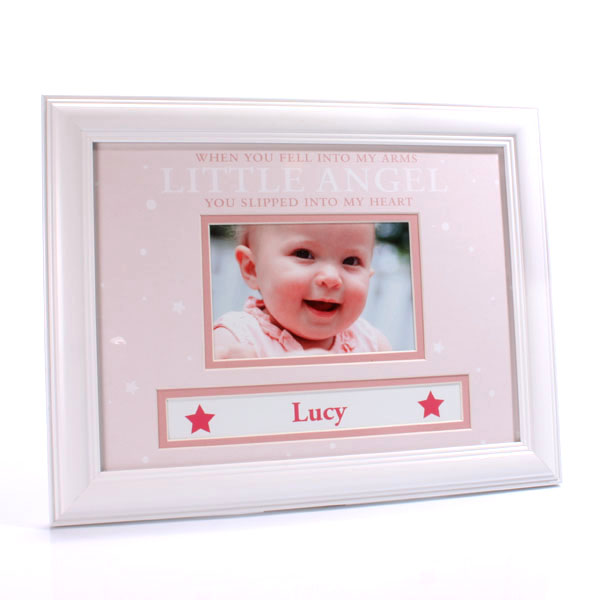 Personalised Baby Girl  Photo Frame - Baby Girl Gifts