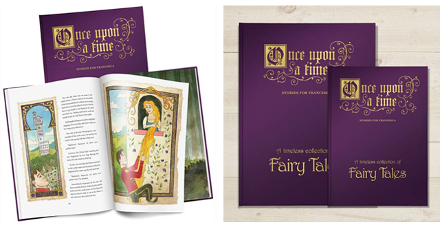 Personalised Book Of Fairy Tales