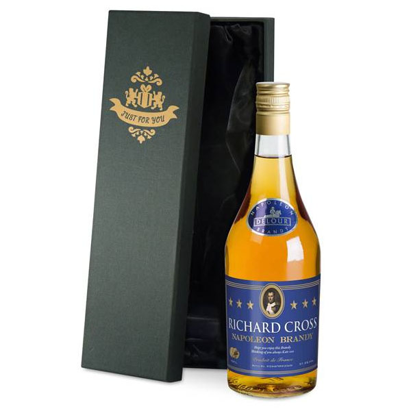 Personalised Brandy Luxury Gift Box - Brandy Gifts