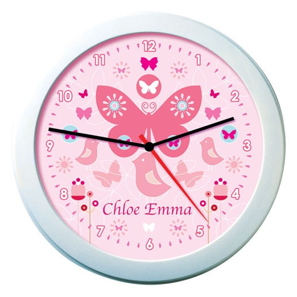 Personalised Butterfly Clock - Butterfly Gifts