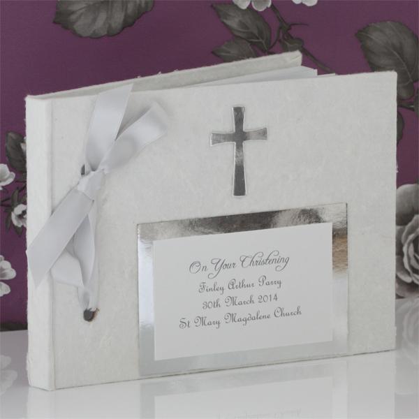 Personalised Christening Photo Album - Christening Gifts