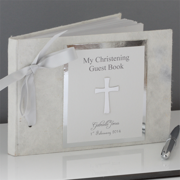 My Christening Day - Personalised Guest Book - Christening Gifts