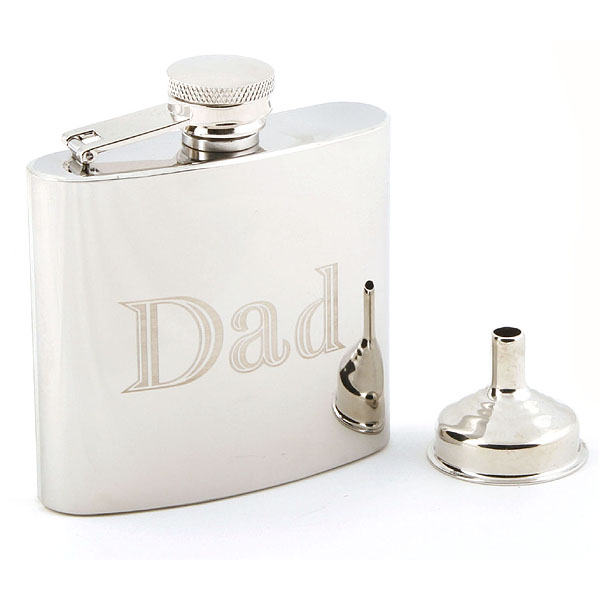 Personalised Dad Hip Flask - Dad Gifts