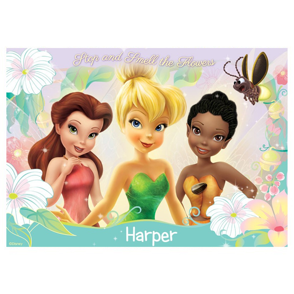 Personalised Disney Fairies Pixie Dust Placemat - Disney Fairies Gifts
