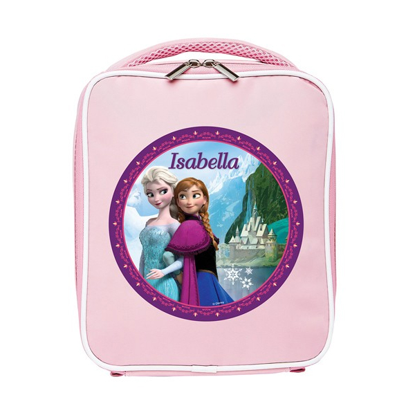 Personalised Disney Frozen Lunch Bag  Pink