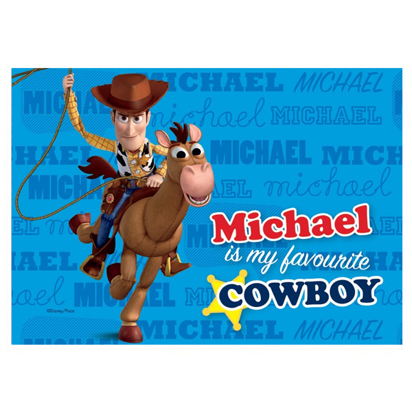 Personalised Disney Pixar Toy Story 3 Heroes Placemat - Toy Story 3 Gifts
