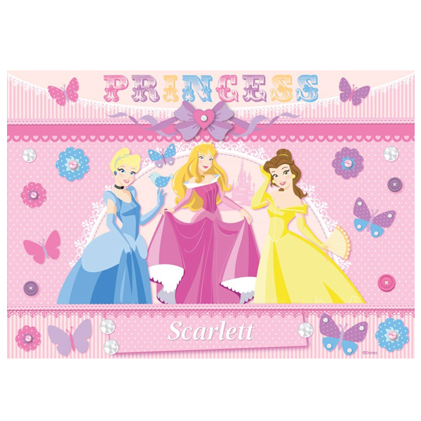Personalised Disney Princess Fairytale Placemat