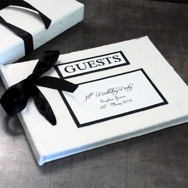 Personalised Handmade Guest Book - Handmade Gifts