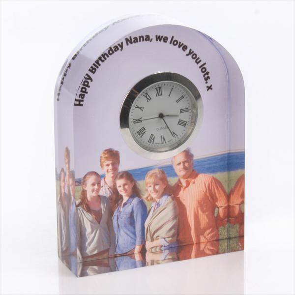Personalised Photo Mantel Clock