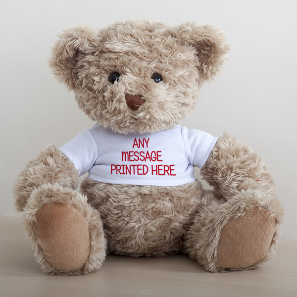 Personalised Teddy Message Bear