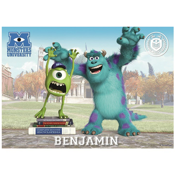 Personalised Monsters University Placemat - University Gifts