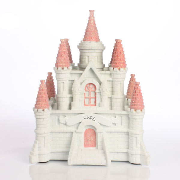Personalised Princess Castle Money Box - Money Gifts
