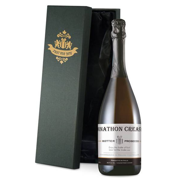 Personalised Prosecco Luxury Gift Box