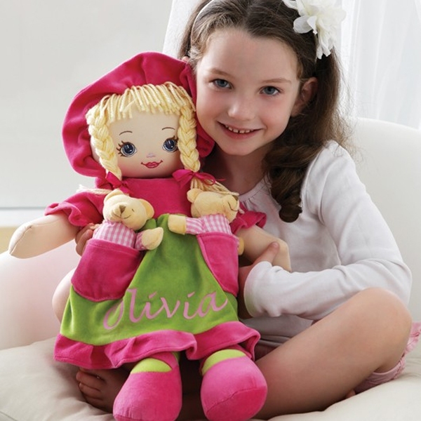 Personalised Rag Doll - Doll Gifts