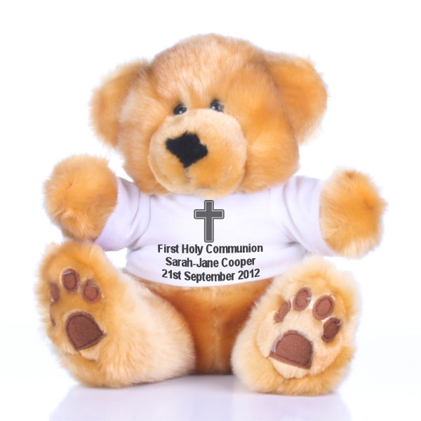 Personalised First Holy Communion Bear - First Holy Communion Gifts