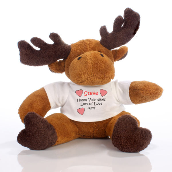 Valentines Day Message Moose - Valentines Day Gifts