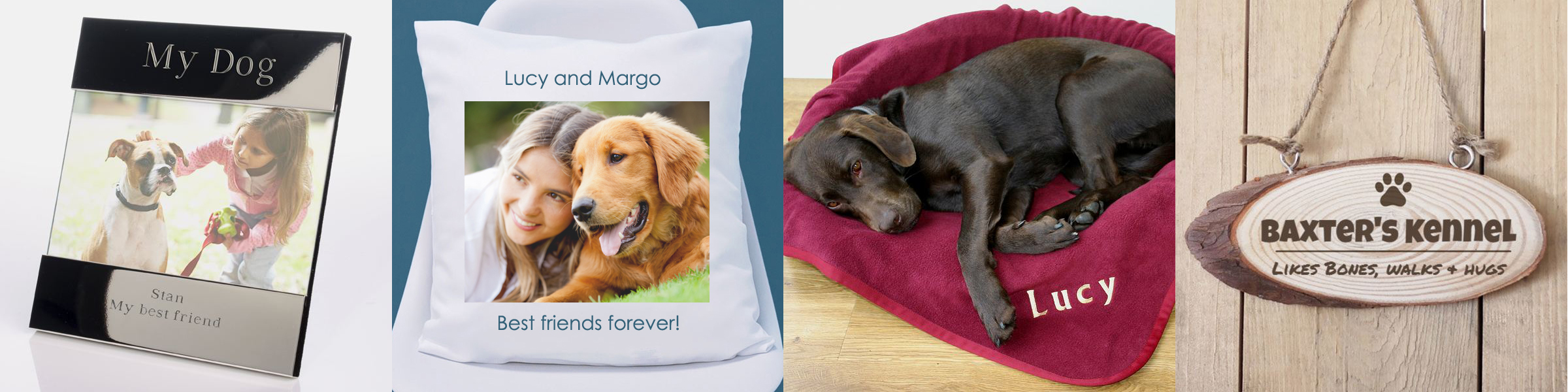 Personalised gifts for Dog lovers