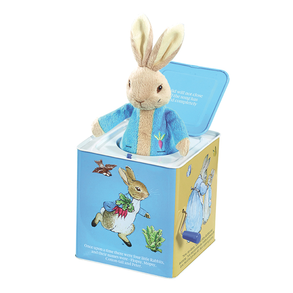 Peter Rabbit Musical Jack In The Box - Peter Rabbit Gifts