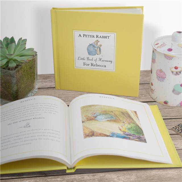 The Peter Rabbit Little Book of Harmony - Personalised Childrens Book