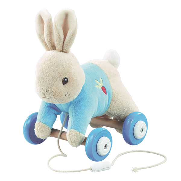 Peter Rabbit Pull Along Toy - Peter Rabbit Gifts