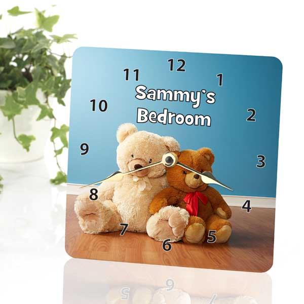 Teddy Bear Personalised Clock