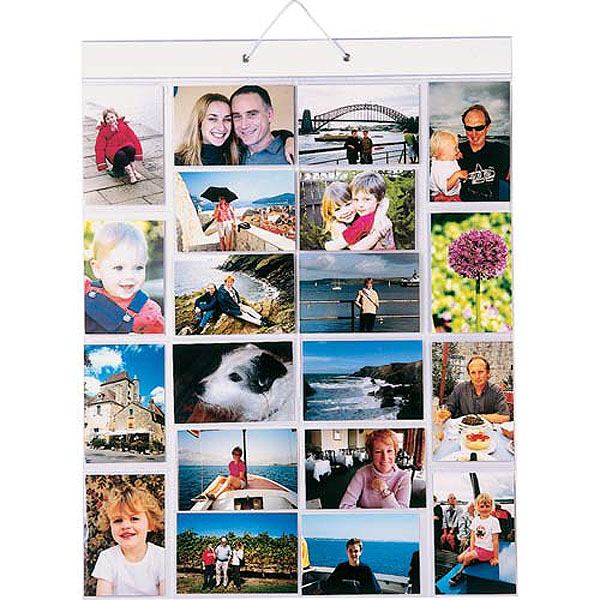 Hanging Photo Gallery - Picture Pockets Medium