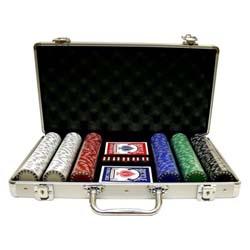 300 Piece Poker Set In Metal Case