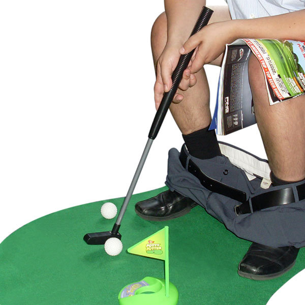 Potty Putter The Ultimate Toilet Putter - Potty Gifts