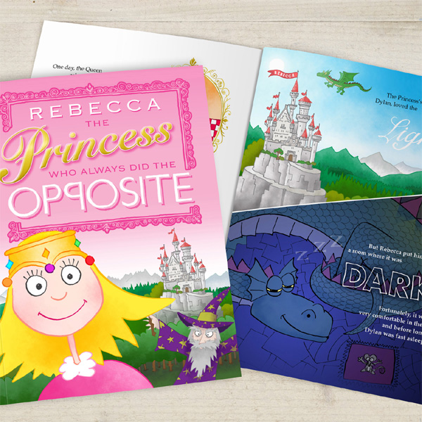 The Princess Who Always Did The Opposite Personalised Book Softback