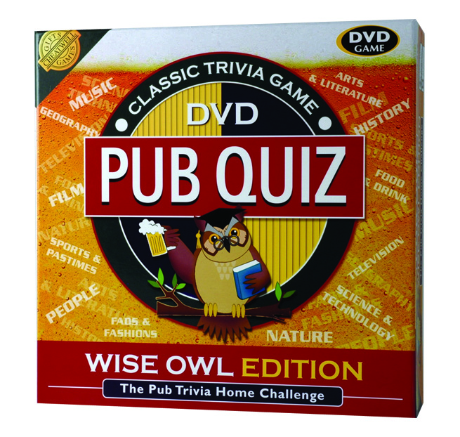 Pub Quiz DVD Game - Pub Gifts