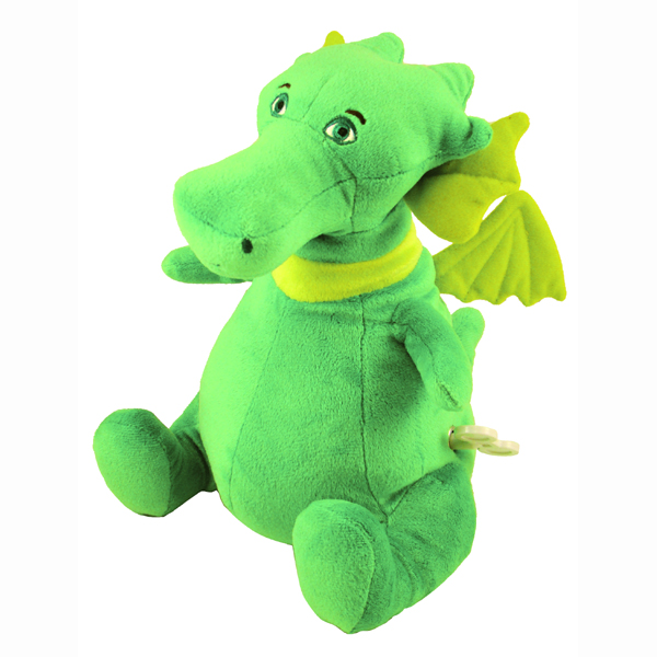 Puff The Magic Dragon - Musical Moving Soft Toy - Soft Toy Gifts
