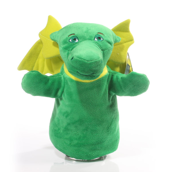 Puff the Magic Dragon - Hand Puppet Soft Toy - Soft Toy Gifts