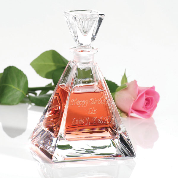 Pyramid Perfume Bottle - Perfume Gifts