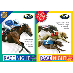 Host Your Own Race Night - Dog and Horse