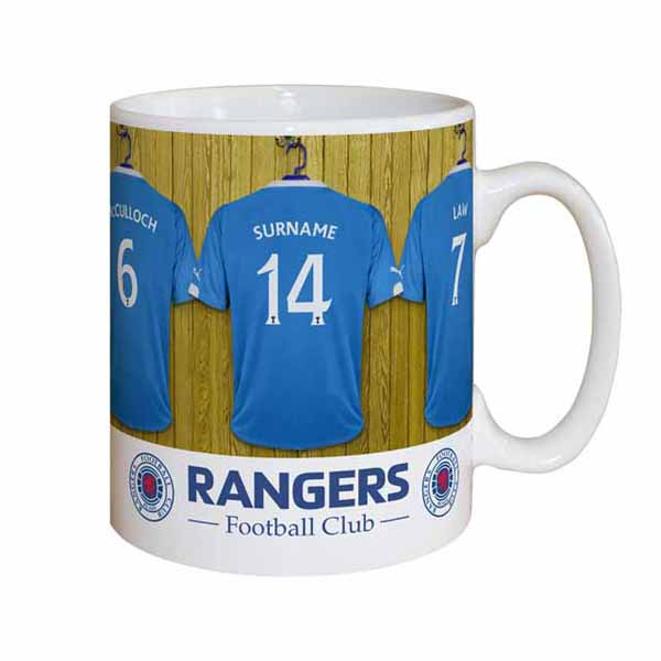 Personalised Rangers Dressing Room Mug - Rangers Gifts