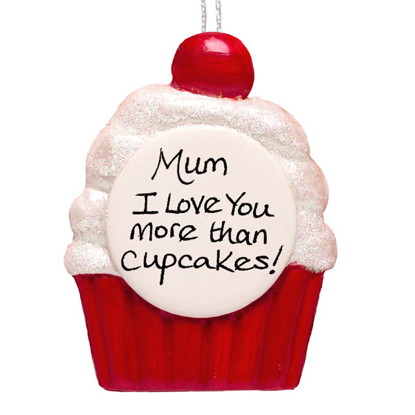Mother's Day Cupcake Hanging Ornament - Cupcake Gifts