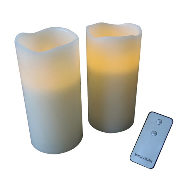 Remote Control Candle Set - 2 pack - Remote Control Gifts