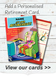 Personalised Retirement Cards