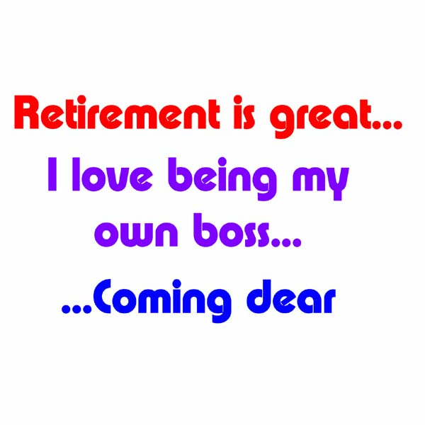 Retirement Mugs (Coming Dear)