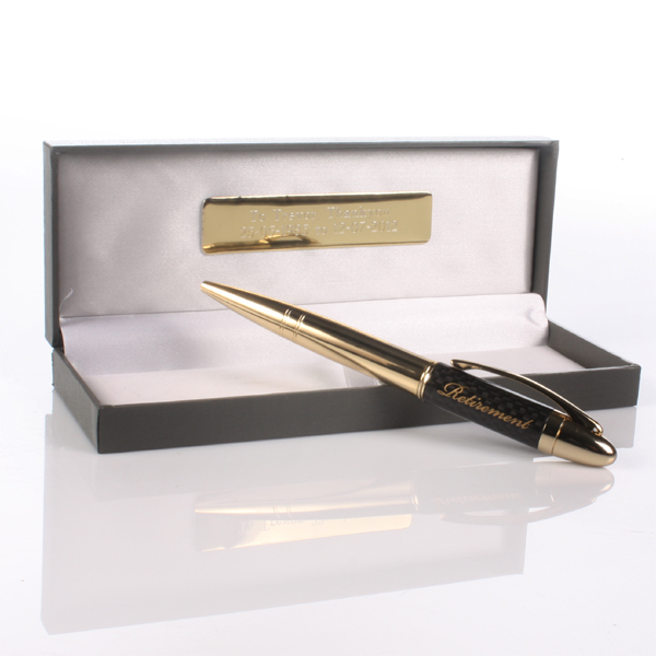 Personalised On Your Retirement Pen & Box Set