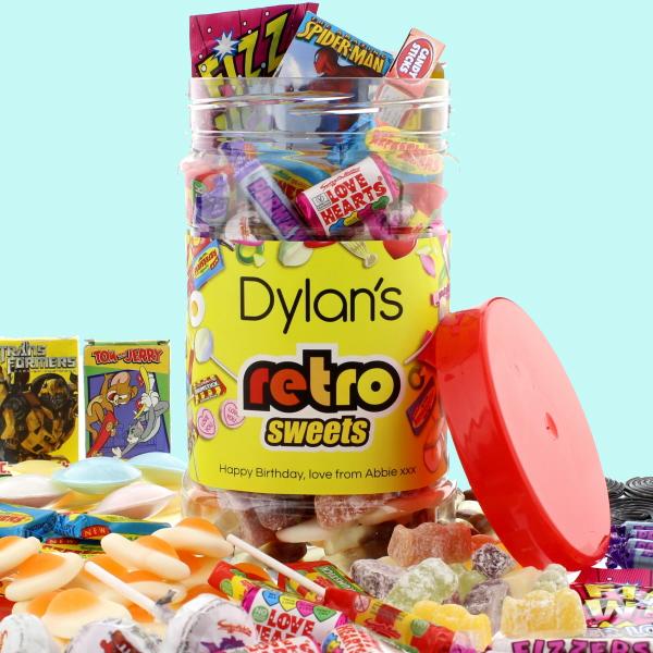 Retro Sweets Retro Sweet Jar - Retro Sweets Gifts