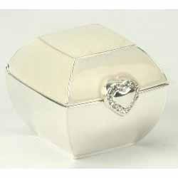 Square Shaped Wedding Ring Box