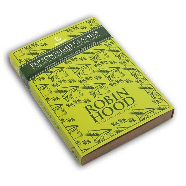 Personalised Classic Books Robin Hood - Books Gifts