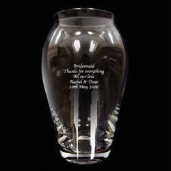 Personalised Roman Vase